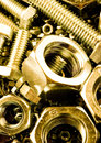Bolts & Nuts Royalty Free Stock Images - 3484829