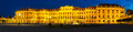Schonbrunn Palace In Vienna In The Evening Royalty Free Stock Image - 34807926