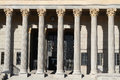 Columns Of The Law Court Palace Stock Image - 34813951