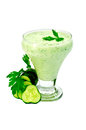 Yoghurt Green With Cucumber And Parsley Stock Images - 34826694