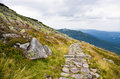 Path In Polish Karkonosze Mountains, Poland Royalty Free Stock Images - 34840029