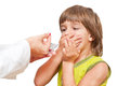 Doctor Giving Child Medication Stock Images - 34848434