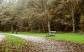 Lonely Bench Stock Image - 34851121