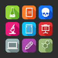 Flat Icons For Web And Mobile Applications Stock Photo - 34854020