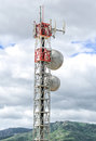 Cellular Tower Royalty Free Stock Photo - 34863325