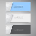 Vector Banners And Squares. Color Set Royalty Free Stock Photos - 34871648