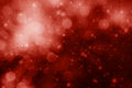Red Stars And Bokeh Christmas Background Royalty Free Stock Images - 34883319