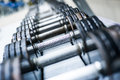 Sports Dumbbells Royalty Free Stock Photography - 34895087