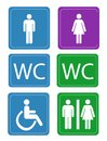 Women And Men Toilets Stock Images - 34927814