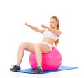 Fitness Woman Royalty Free Stock Photo - 34947505
