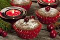Chocolate Cupcake With Berry Royalty Free Stock Images - 34947649