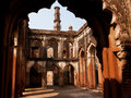 Arches Of An Ancient Stone Building In Indian City Stock Images - 34970044