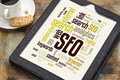SEO Word Or Tag Cloud Royalty Free Stock Image - 34985936