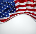 American Flag Royalty Free Stock Photo - 34998185