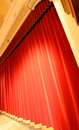 Red Curtain Royalty Free Stock Photos - 3505378