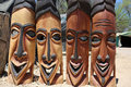 African Masks Royalty Free Stock Photo - 35001695