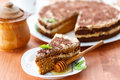 Honey Cake Royalty Free Stock Images - 35007829