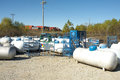 Propane Tanks Royalty Free Stock Image - 35033776