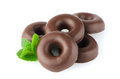 Chocolate Donut Cookies Royalty Free Stock Images - 35034929