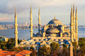 Blue Mosque In Istanbul Stock Images - 35035114