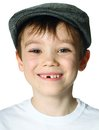 Boy With A Hat Royalty Free Stock Photography - 35036307