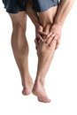 Calf Pain. Royalty Free Stock Photos - 35043648