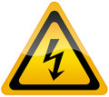 High Voltage Sign Stock Images - 35048454