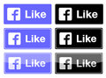 Facebook Like Button Stock Images - 35051284