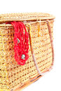 Handicraft Chest And Red Coral Necklace Royalty Free Stock Images - 35064939