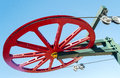 Red Wheel Royalty Free Stock Images - 35083309