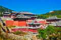 The Temple Of Zu Mountain Stock Images - 35107144