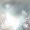 Christmas Abstract Bokeh Vector Background Stock Image - 35107171