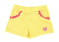 Yellow Girl Shorts With Heart. Stock Image - 35117821