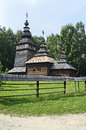 Old Wooden Orthodox Church Royalty Free Stock Images - 35134669