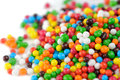 Multicolored Sugar Sprinkles (Edible Cupcake Decorations) Close-Up Stock Photography - 35138002