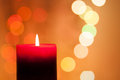 Christmas Candle Royalty Free Stock Images - 35154769