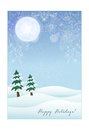 Winter Card Royalty Free Stock Images - 35155909