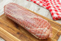 Raw Veal Roulade Stock Photography - 35156002