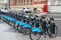 London Bicycles Royalty Free Stock Photo - 35165325