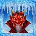 When Hell Freezes Over Stock Images - 35165884