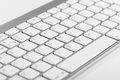 Close-up Computer Keyboard With Bokeh Effect Stock Image - 35170701
