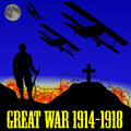 Illustration Of The First World War (the Great War Royalty Free Stock Photography - 35188277