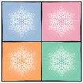 Background Snowflake Royalty Free Stock Photography - 3523577