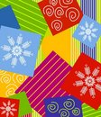 Christmas Wrapping Background Royalty Free Stock Photography - 3529077