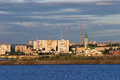 The City On The Kama River Stock Images - 35200294