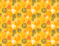 Seamless Pattern Of Simple Geometry. Retro-style Illustration Royalty Free Stock Photos - 35201798
