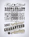 Set Of Coffee , Cafe Typographic Elements Royalty Free Stock Photos - 35216448