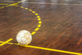 Old Futsal Court Royalty Free Stock Image - 35218796