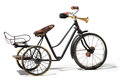 Old Bike In Retro Style Royalty Free Stock Images - 35241189