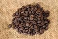Roasted Coffee Seeds Royalty Free Stock Photo - 35244275